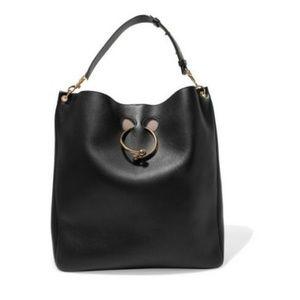 J.W. Anderson Pierce Hobo Large Black Shoulder Bag